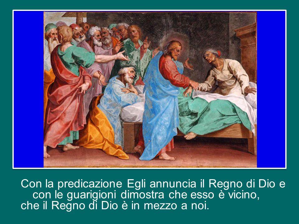 Il Vangelo di oggi (cfr Mc 1,29-39) ci presenta Gesù che, dopo aver predicato di sabato nella sinagoga, guarisce tanti malati.