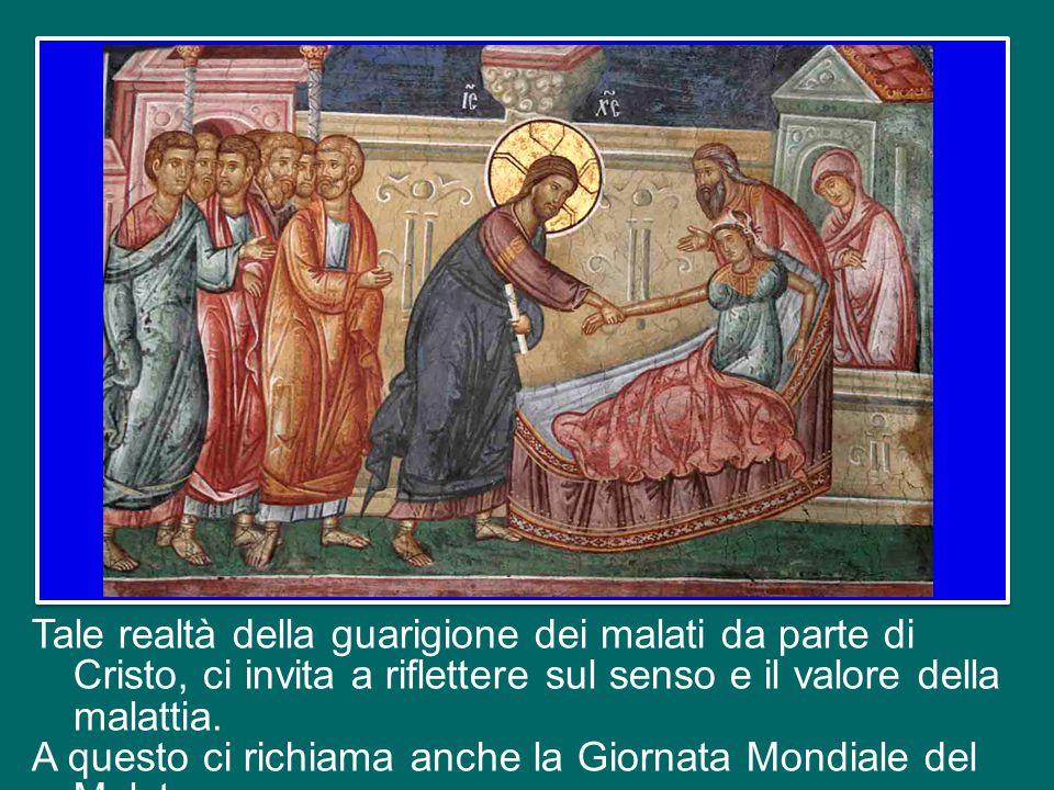 i poveri, i peccatori, gli indemoniati, i malati, gli emarginati. Egli così si rivela medico sia delle anime sia dei corpi, buon Samaritano dell'uomo.
