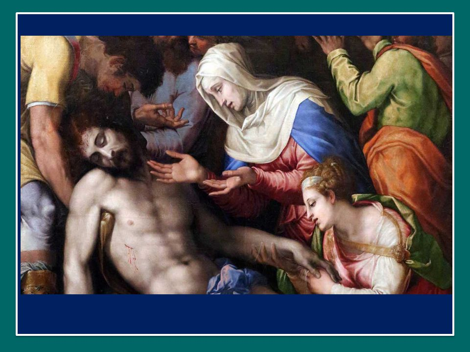 avendo davanti agli occhi il Crocifisso, nel quale appare tutto il mistero salvifico di Dio Padre, che per amore degli uomini non ha risparmiato il proprio Figlio.