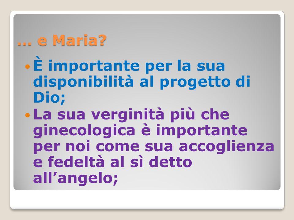 … e Maria.