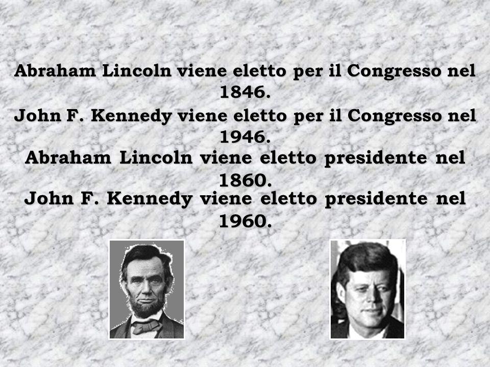 Abraham Lincoln viene eletto per il Congresso nel 1846.