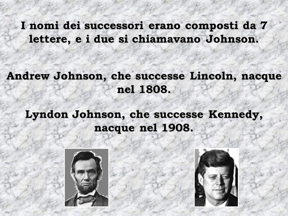 """Sono stati assassinati da """"gente del Sud"""". I due presidenti hanno avuto come successori un """"sudista""""."""