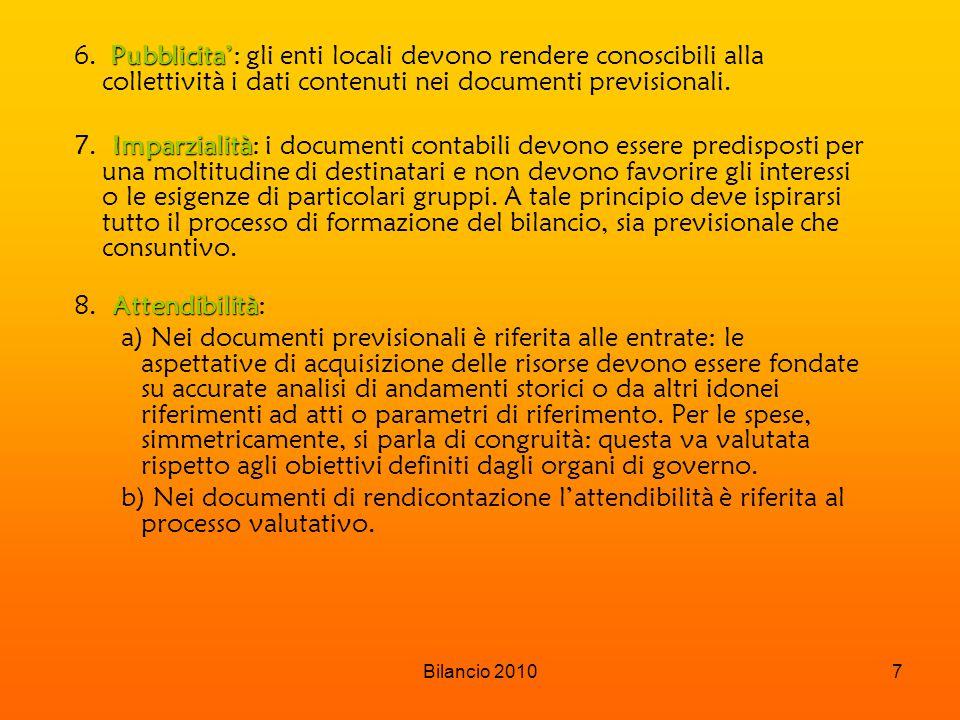 Bilancio 20107 Pubblicita' 6.
