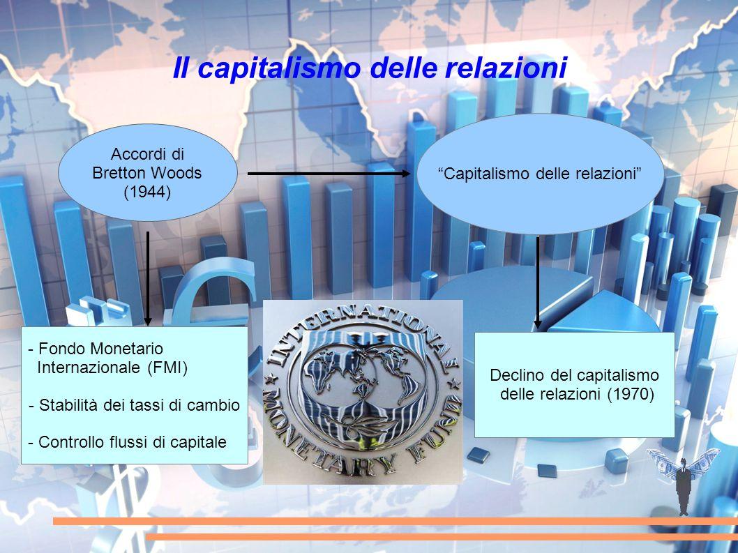 """Il capitalismo delle relazioni """"Capitalismo delle relazioni"""" - Fondo Monetario Internazionale (FMI) - Stabilità dei tassi di cambio - Controllo flussi"""