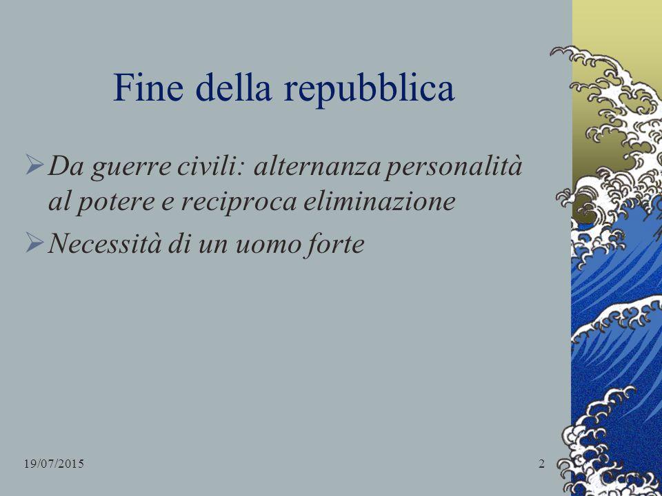 Pompeo, Cesare e Crasso POMPEO: nobile e ricco generale di Silla.