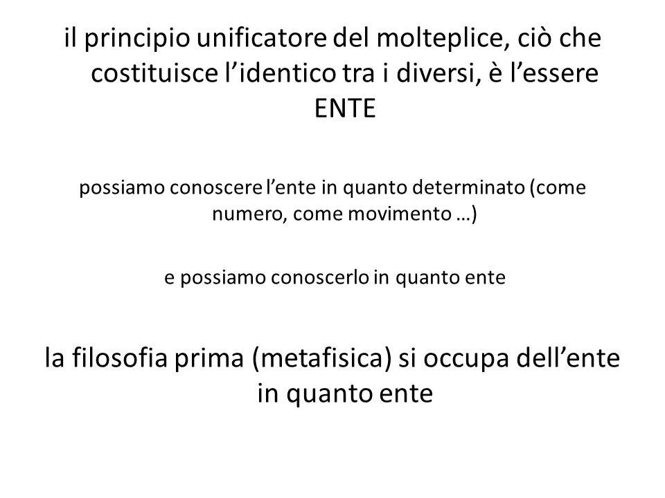 Aristotele indaga due aspetti della sostanza immobile: il suo rapporto con ciò che è mosso: il motore immobile è la causa finale del movimento nel senso che muove le cose come l'oggetto d'amore muove l'amante le sue proprietà: sostanza immateriale, pura forma, puro atto, pensiero in atto
