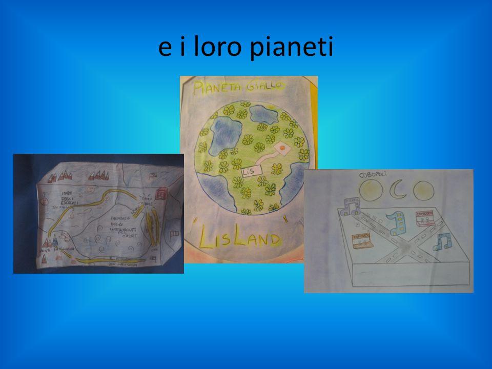 e i loro pianeti