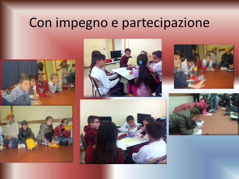Con impegno e partecipazione