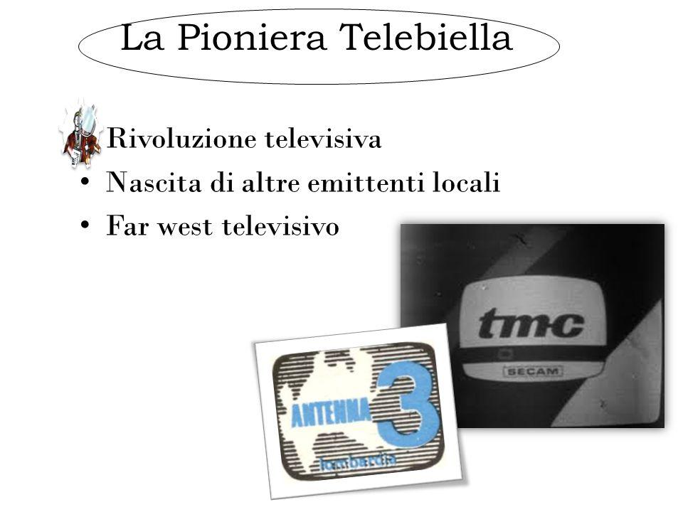La Pioniera Telebiella Rivoluzione televisiva Nascita di altre emittenti locali Far west televisivo