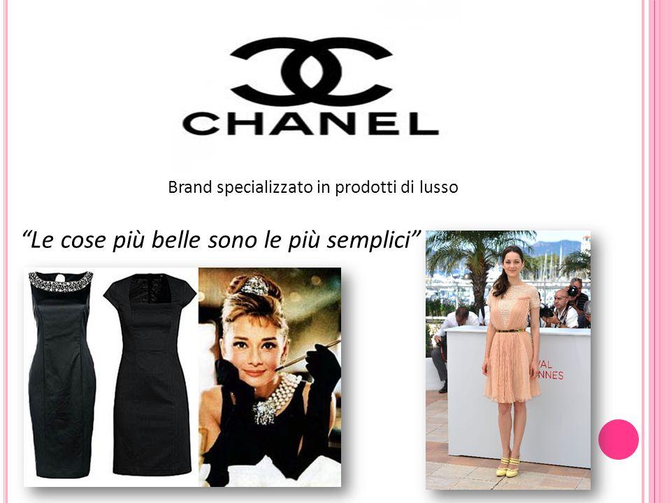 """Brand specializzato in prodotti di lusso """"Le cose più belle sono le più semplici"""""""
