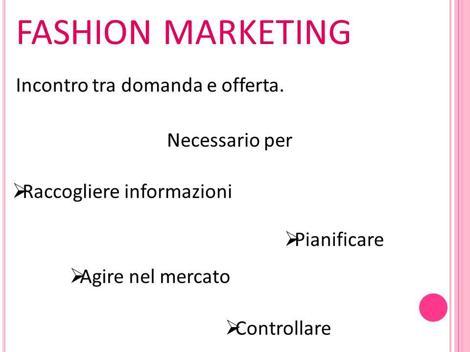 Nuova filosofia aziendale  Analisi dell'ambiente  Scelta obiettivi  Scelta segmento di mercato  Scelta strategie di marketing  Scelta strategie alternative