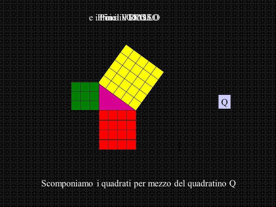 GIALLO VERDE ROSSO Allora i = c + c 12 Da cui: 222