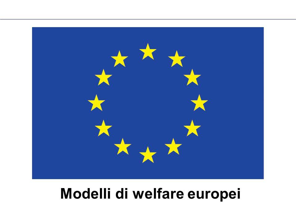 Modelli di welfare europei