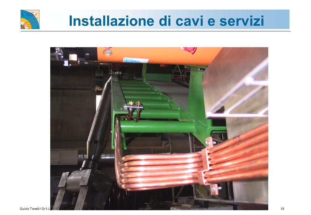 Guido Tonelli / Gr1-Lecce 25.09.200318 Installazione di cavi e servizi