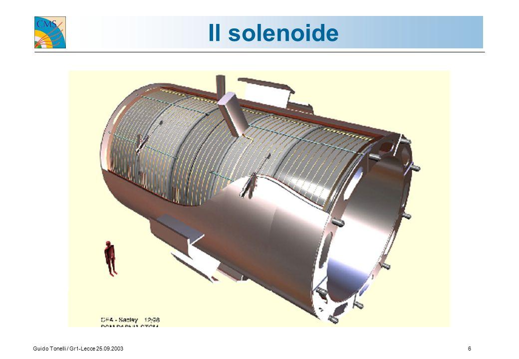 Guido Tonelli / Gr1-Lecce 25.09.20036 Il solenoide