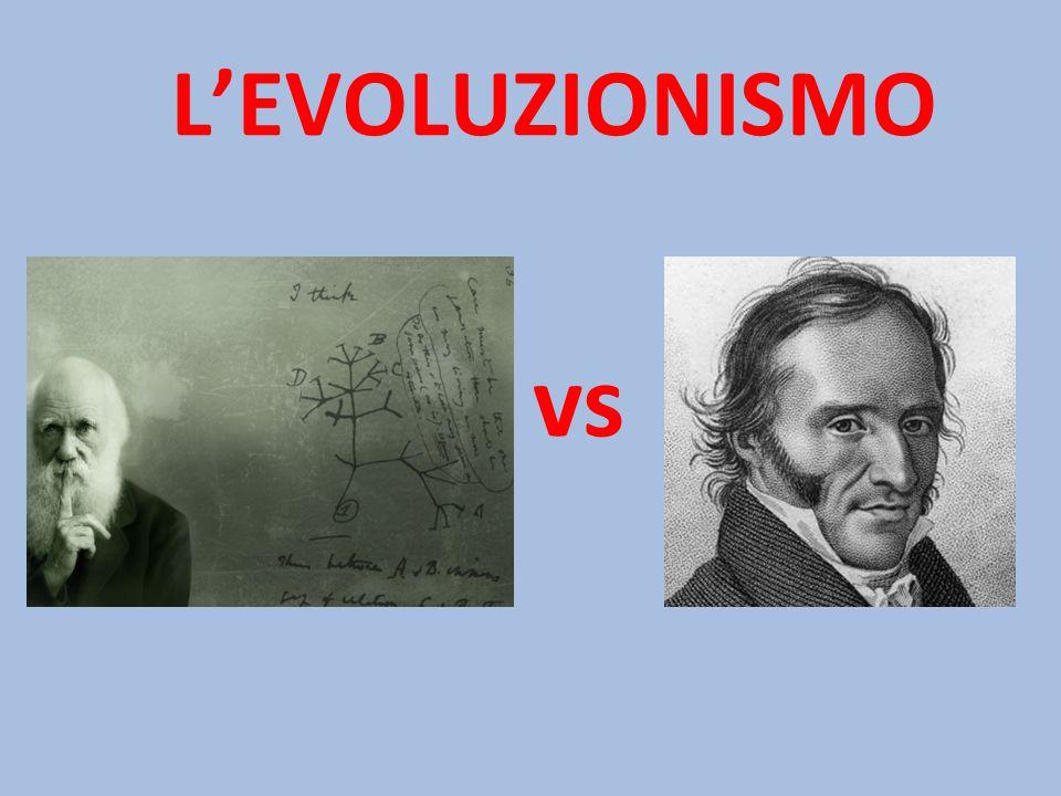 L'EVOLUZIONISMO vs