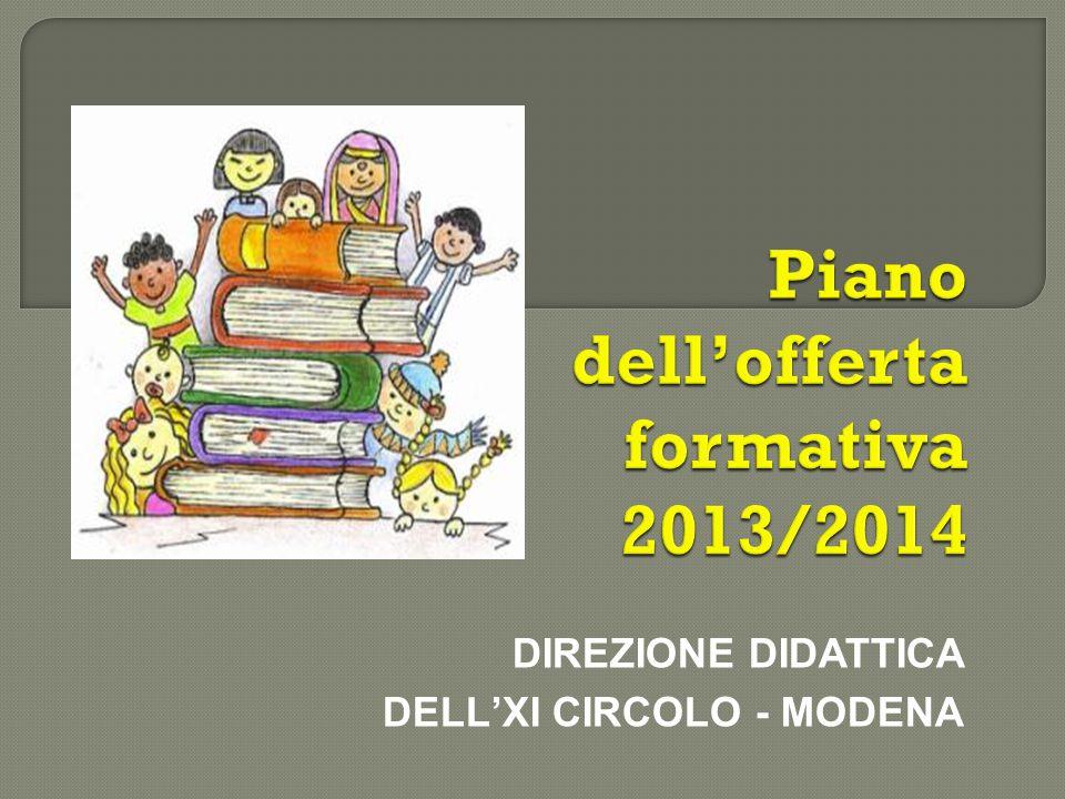 DIREZIONE DIDATTICA DELL'XI CIRCOLO - MODENA