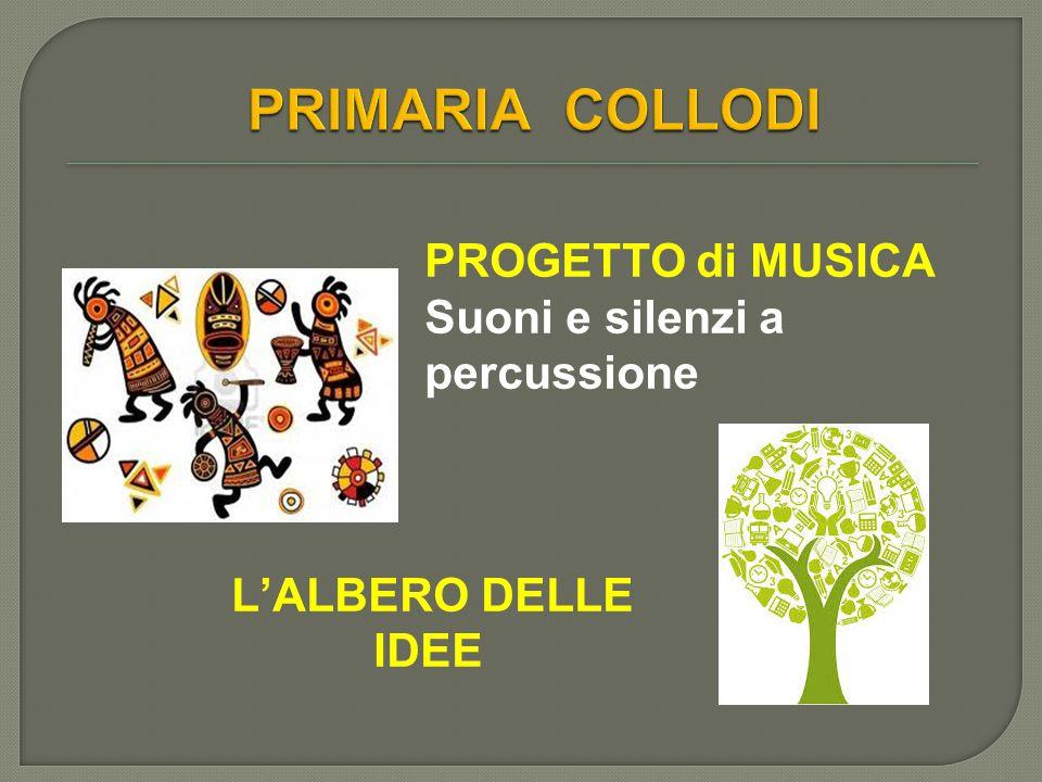PROGETTO di MUSICA Suoni e silenzi a percussione L'ALBERO DELLE IDEE