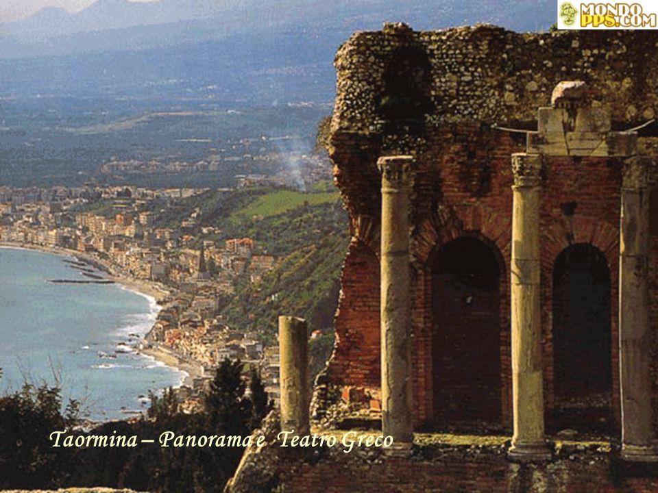 Taormina – Panorama e Teatro Greco