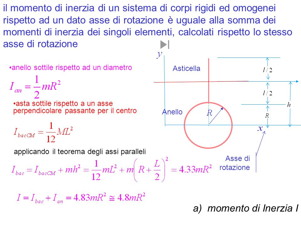 possiamo correlare la velocità angolare all'energia cinetica della struttura possiamo correlare la energia cinetica della struttura alla sua energia potenziale gravitazionale.