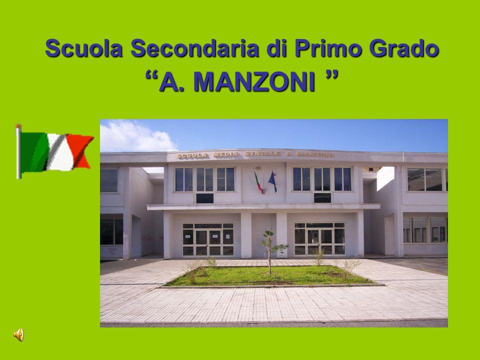 Scuola Secondaria di Primo Grado A. MANZONI