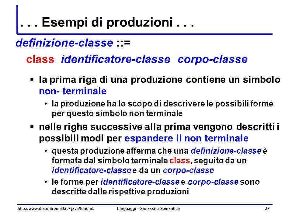 http://www.dia.uniroma3.it/~java/fondinf/Linguaggi - Sintassi e Semantica 38...