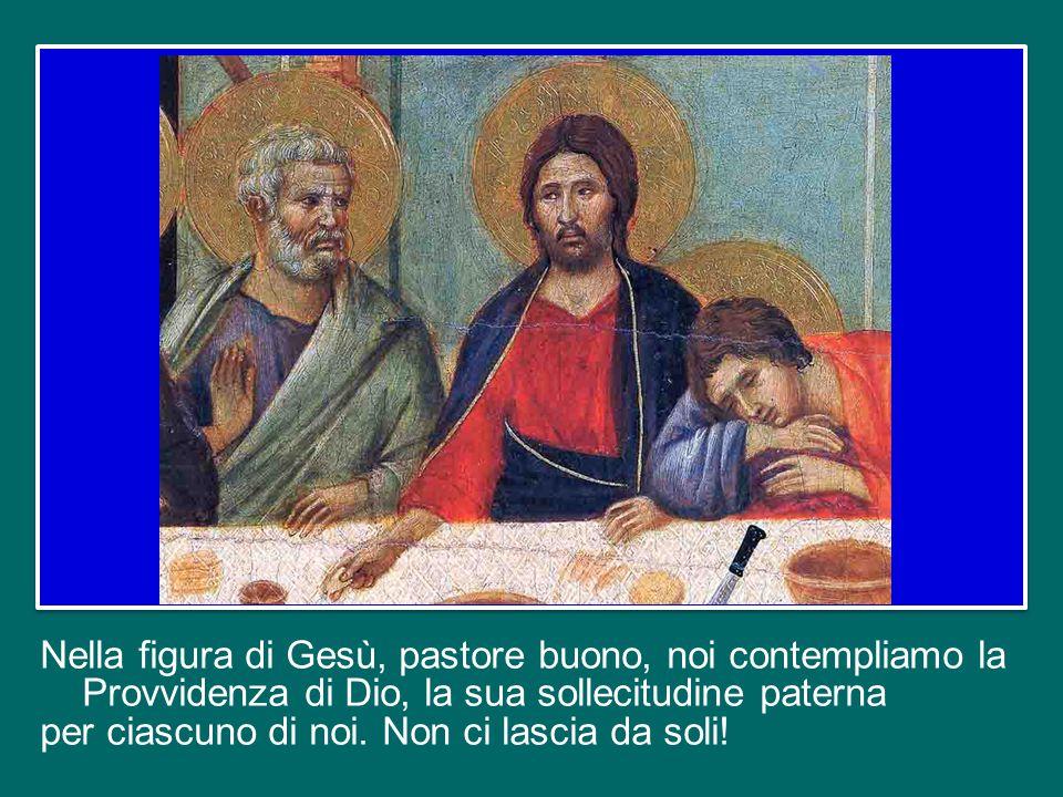 A differenza del mercenario, Cristo pastore è una guida premurosa che partecipa alla vita del suo gregge, non ricerca altro interesse, non ha altra am