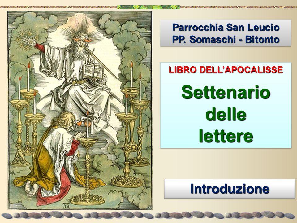 Tutte e sette le lettere hanno uno schema fisso.Indirizzo: All'angelo della Chiesa di...
