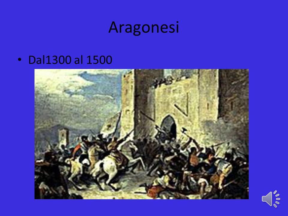 Aragonesi Dal1300 al 1500