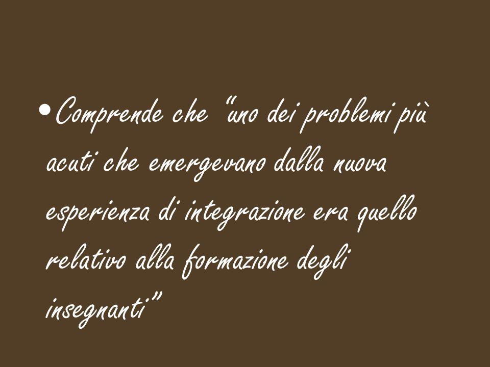 Nel 1967 promuove la fondazione dell' Istituto Toniolo dell'Università Cattolica di Milano Scuola di preparazione del personale insegnante ed assistente