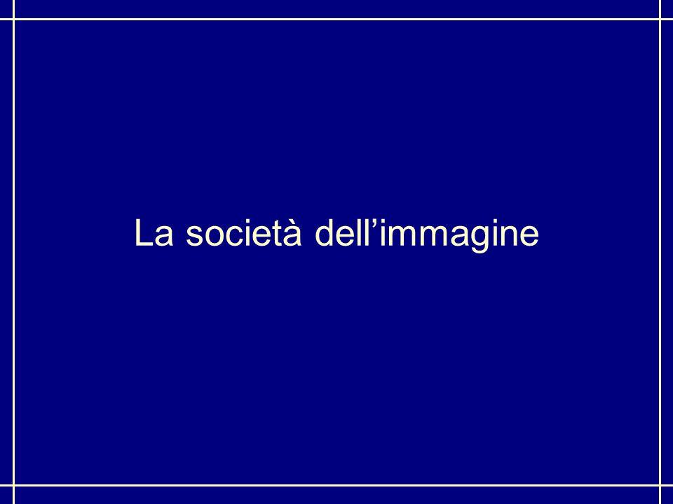 La società dell'immagine