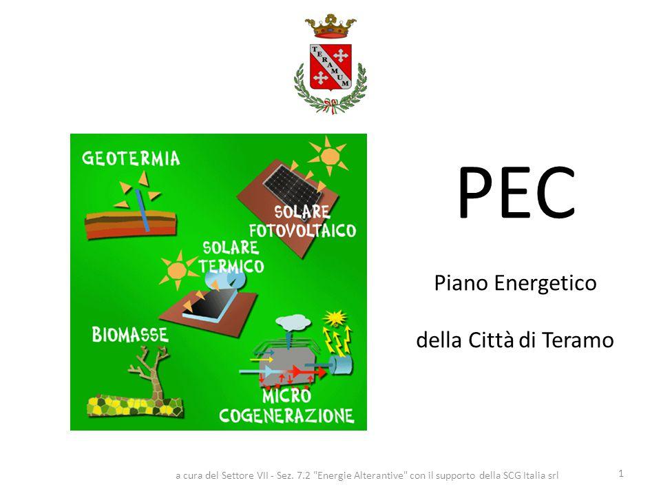 PEC Piano Energetico della Città di Teramo 1 a cura del Settore VII - Sez.