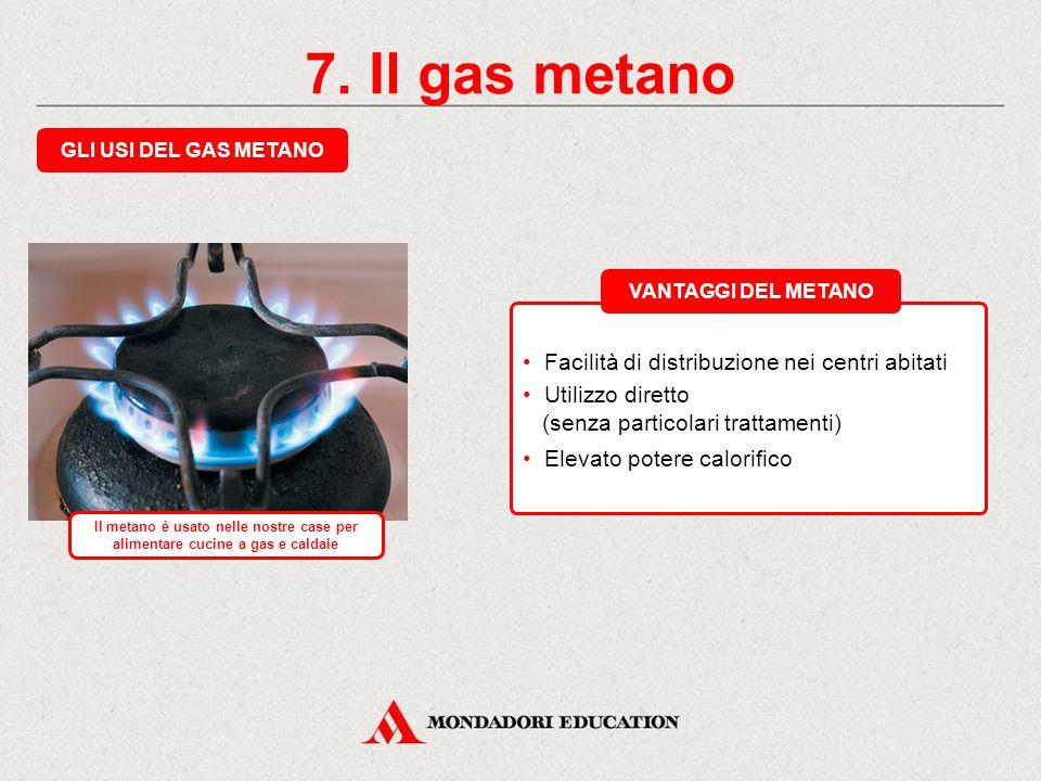 7. Il gas metano ORIGINE E TRASPORTO