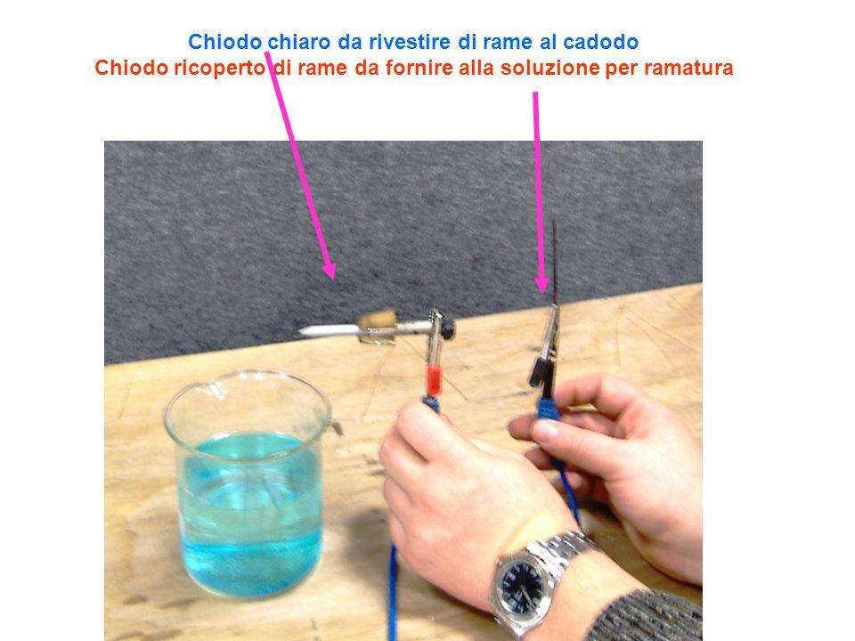 Chiodo chiaro da rivestire di rame al cadodo Chiodo ricoperto di rame da fornire alla soluzione per ramatura