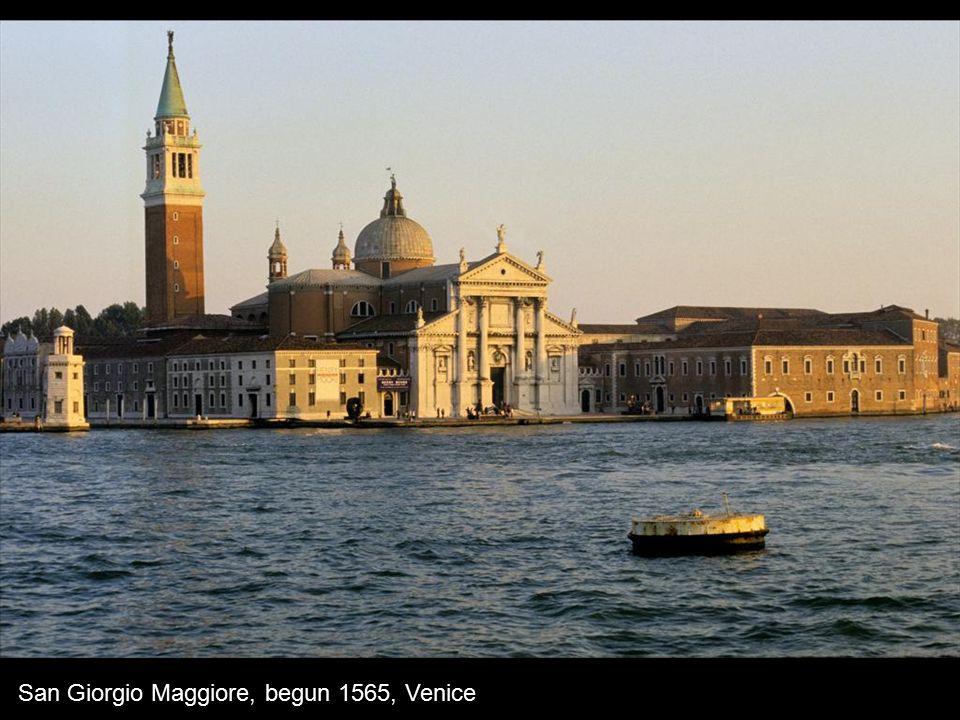 San Giorgio Maggiore, begun 1565, Venice