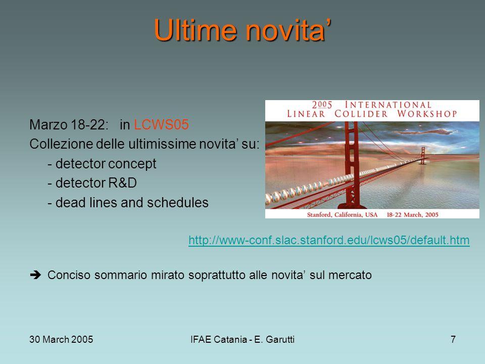 30 March 2005IFAE Catania - E.Garutti28 HCAL: analogico o digitale.
