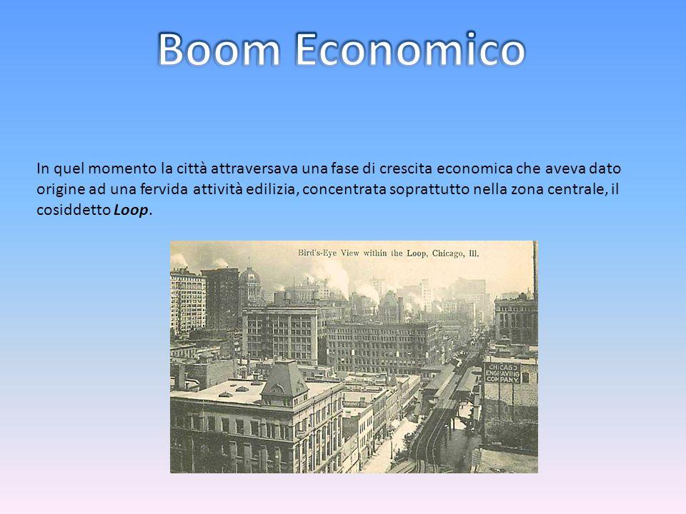 In quel momento la città attraversava una fase di crescita economica che aveva dato origine ad una fervida attività edilizia, concentrata soprattutto