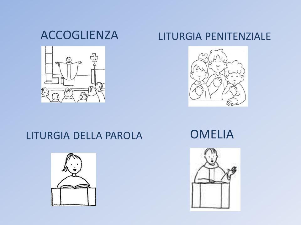 ACCOGLIENZA LITURGIA PENITENZIALE LITURGIA DELLA PAROLA OMELIA