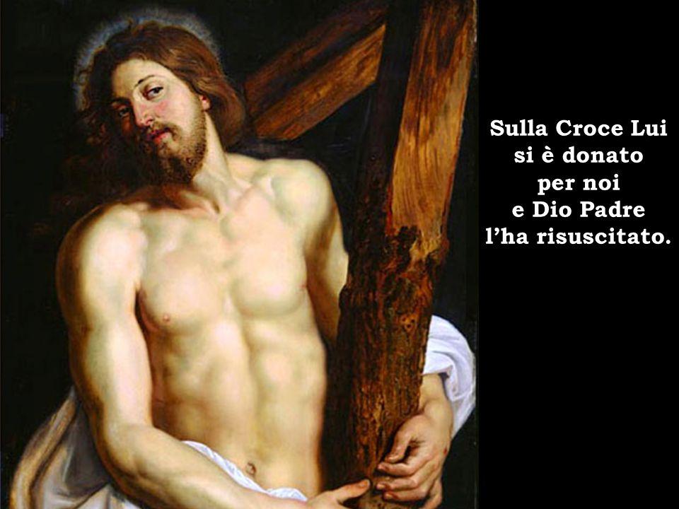 Come consacrò con la forza sua, Gesù Cristo, il Figlio suo, il Messia.