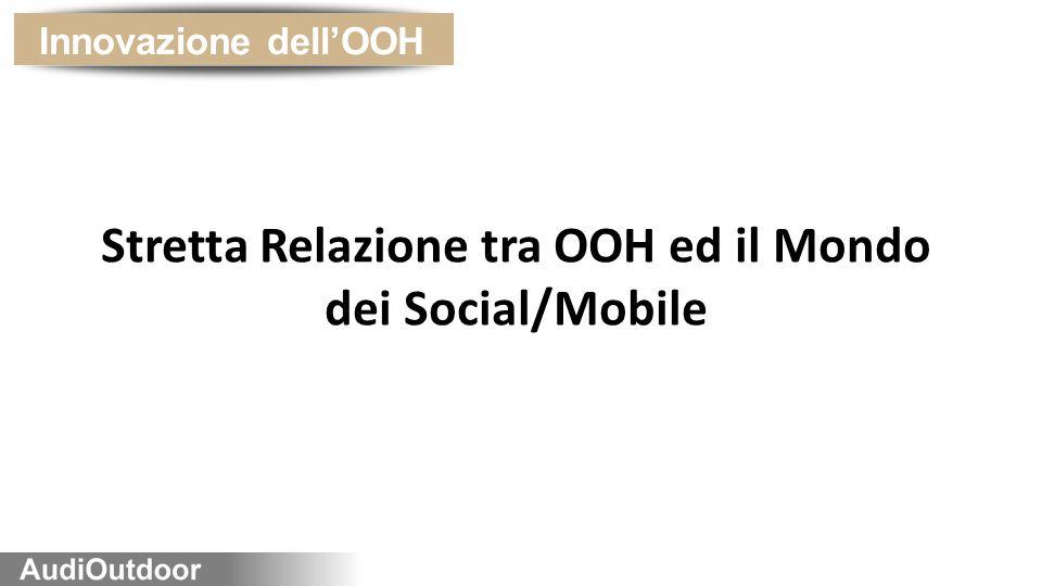 Stretta Relazione tra OOH ed il Mondo dei Social/Mobile