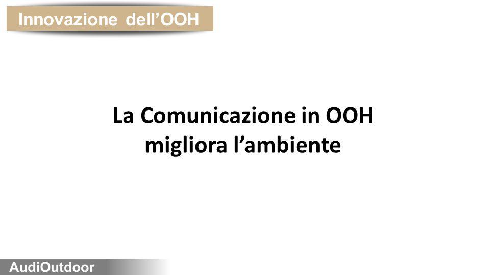 La Comunicazione in OOH migliora l'ambiente