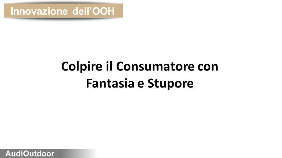 Innovazione dell'OOH Colpire il Consumatore con Fantasia e Stupore
