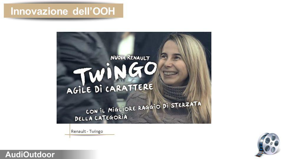 Renault - Twingo Innovazione dell'OOH