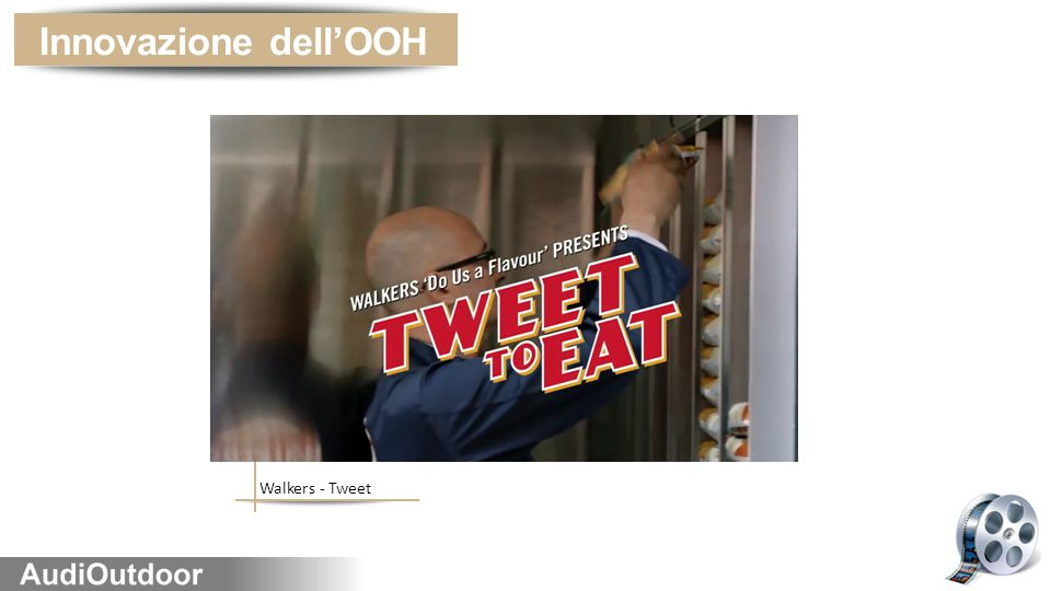 Walkers - Tweet Innovazione dell'OOH