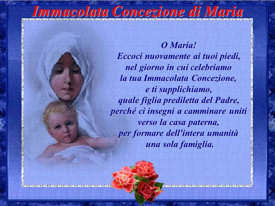 Santa Maria …prega per noi