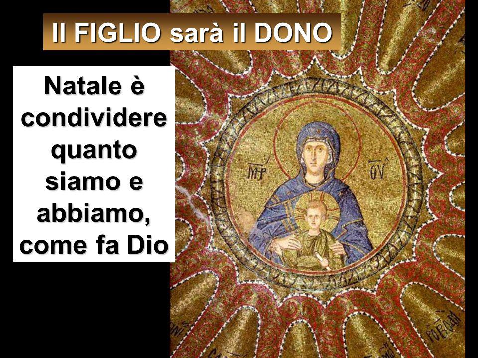 Le rispose l'angelo: «Lo Spirito Santo scenderà su di te e la potenza dell'Altissimo ti coprirà con la sua ombra. Perciò colui che nascerà sarà santo