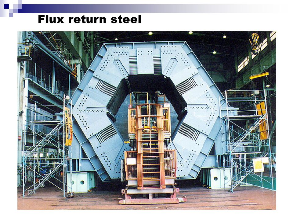 Flux return steel