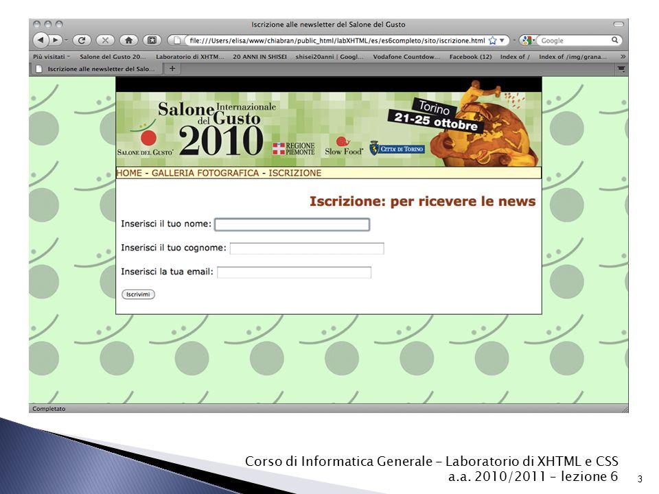  Tutte le informazioni che il sito ricava dalle form possono essere usate da altri programmi.
