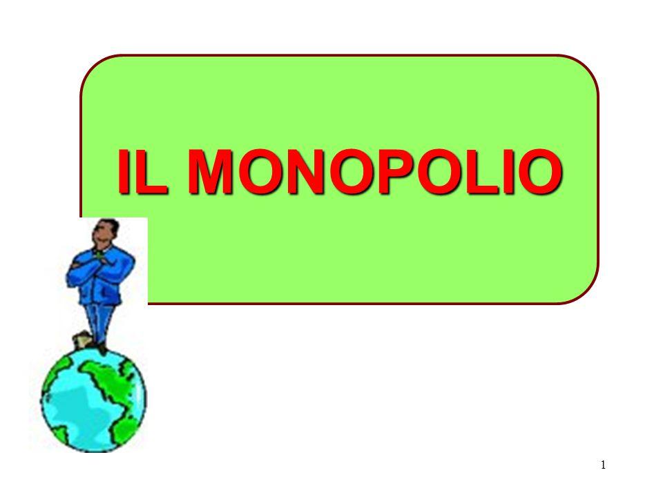 1 IL MONOPOLIO