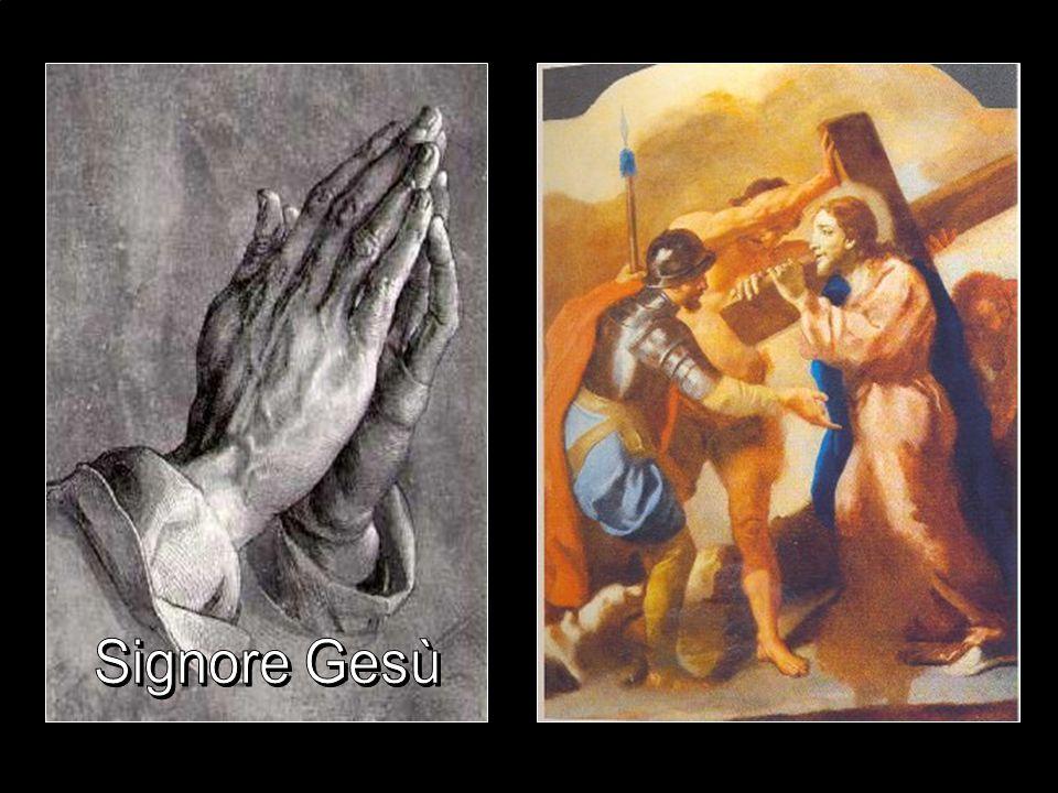 Prima stazione Gesù condannato a morte E'la prova della rapidità della giustizia umana e dellla sua parzialità quando interessa condannare Dio.